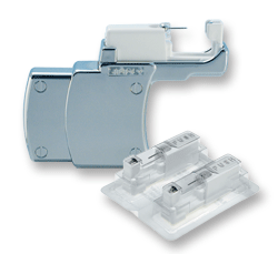 Used only by our Studex partners—Studex System75 with piercing studs in sterile cartridges