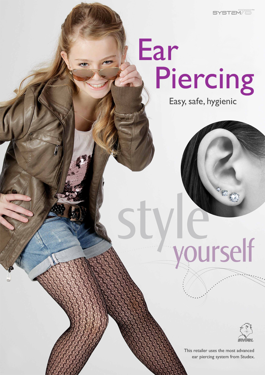 This Studex partner offers ear piercing services with our state-of-the-art eat piercing system Studex System75