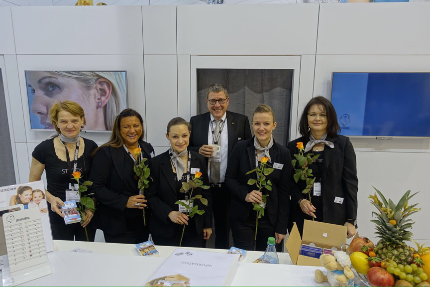 Parts of the International Studex Team at INHORGENTA MUNICH 2016